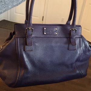 Kate Spade Bag - Purple - All leather